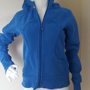 Lululemon Scuba Hoodie Sweatshirt Beaming Blue 8